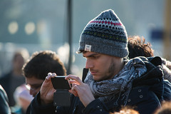 French tourist - 2014-12-21 (Tim Evanson) Tags: cuteguys