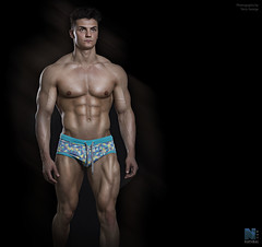 George Armstrong (TerryGeorge.) Tags: male george model natural underwear models terry fitness armstrong abs sixpack fit teamm8