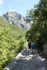 Walking down Velika Paklenica canyon (NH53) Tags: croatia paklenica velika