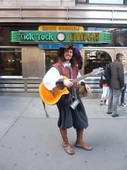 Tick Tock Pirate (Slip Mahoney) Tags: new york people newyorkcity manhattan famous ticktock mrg