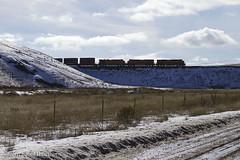On the Fill (Joel Hawthorn) Tags: bnsfcolumbiariversub bnsfrailway backlight snow sillouette