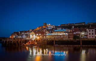 The hour is blue in Whitby