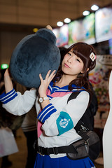 KONAMI -Japan Amusement EXPO (JAEPO) 2017 (Makuhari, Chiba, Japan) (t-mizo) Tags: sigma50mmf14dgart sigma sigma50 sigma5014 sigma50f14 sigma50mm sigma50mmf14 sigma50mmf14exdg sigma50mmf14exdgart sigma50mmart sigma50exdg art ジャパンアミューズメントエキスポ2017 jaepo jaepo2017 japanamusementexpo japanamusementexpo2016 千葉 chiba makuhari 幕張 美浜区 mihama 幕張メッセ makuharimesse 展示会 日本 japan event イベント person ポートレート portrait people women woman girl girls cosplay コスプレ レイヤー cosplayer コスプレイヤー キャンペーンガール キャンギャル campaigngirl showgirl コンパニオン companion konami コナミ canon canon5d canon5d3 5dmarkiiii 5dmark3 eos5dmarkiii eos5dmark3 eos5d3 5d3 lr lr6 lightroom6 lightroom lrcc lightroomcc