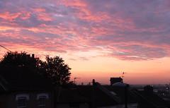 Plumstead Sunset (radio53) Tags: sky meteorology sunset plumstead london se18 fuji x10