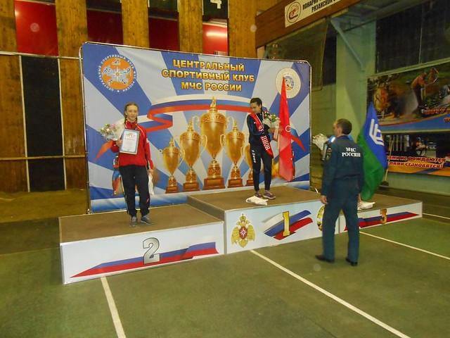 Работник МЧС изСаратова поставила новый мировой рекорд