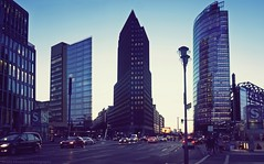 Potsdam Square - Berlin (khalid almasoud) Tags: potsdam square berlin potsdamsquare germany city evening center sony ilce5100 sonya5100 sonyalpha street flickr estrellas