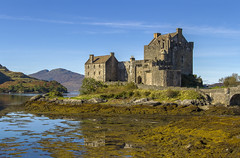 Eilean Donan (Kev Gregory (General)) Tags: eilean donan recognised iconic images scotland world situated island point three great sea lochs meet surrounded some majestic scenery wonder castle visited important attraction scottish highlands first inhabited 6th century fortified built mid 13th stood guard over lands kintail versions feudal history unfolded centuries destroyed jacobite uprising ruins lieutenant colonel john macraegilstrap bought restore former glory constables hdr high dynamic range kev gregory canon 7d