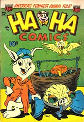 Ha Ha 87 (Michael Vance1) Tags: art adventure artist anthology comics comicbooks cartoonist funnyanimals fantasy funny humor goldenage