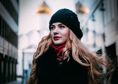 Moscow scene (Dmitry_Pimenov) Tags: girl pretty awesome portrait bella beautiful colors colorful contrast people light lips hair eyes face smile russia russian woman outdoor outdoors reflection dipimenov dmitrypimenov fujifilmxt1 дмитрийпименов портрет девушка