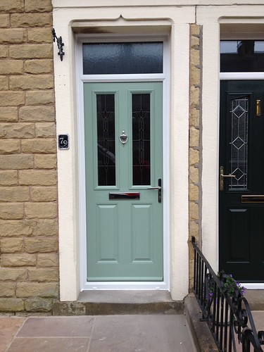 "Composite Door and Fan Light,Chartwell Green • <a style=""font-size:0.8em;"" href=""http://www.flickr.com/photos/119595852@N02/14164904517/"" target=""_blank"">View on Flickr</a>"