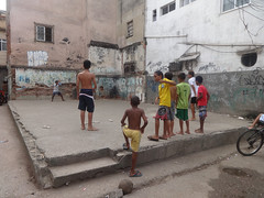 A Football Game In Jacarezinho, One Of