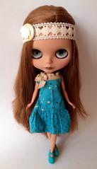Custom blythe doll manuhealii paradise girl. Eleanor