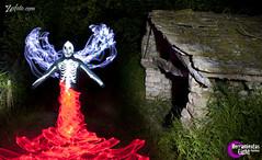 La Posada del Infierno (ZESFOTO) Tags: lightpainting luz de noche arte fantasia terror nocturna pintura oscuridad infierno zesfoto
