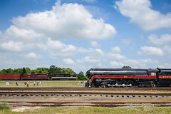 Norfolk and Western power (mdamtrak199) Tags: nw steam 611 streamlinersatspencer