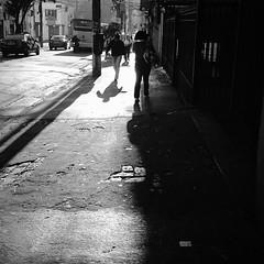 Rua Pires da Mota. Aclimao. So Paulo, Brazil (Lpine) Tags: street bw silhouette square sopaulo sombra pb sp squareformat streetphoto rua iphone silhueta aclimao iphoneography instagramapp uploaded:by=instagram
