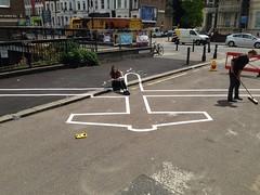 Drone Shadow 007: Installation (STML) Tags: london lift battersea clapham bac drone liftfestival droneshadow