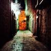 Israel 32 (SG Dorney) Tags: light night israel alley jerusalem iphone appleiphone