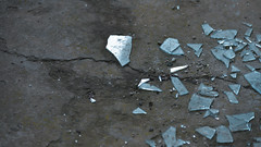 a deserted school. (sugus.) Tags: school broken glass deserted