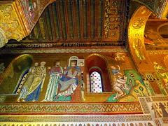 IMG_4353 - la cappella palatina nel palazzo dei normanni a palermo (molovate) Tags: arte mosaico arabia palermo cultura luce dei sicilia portico oro storia pallazzo normanni tessere volate arabonormanno tafme molovate unescoitinerarioarabonormanno