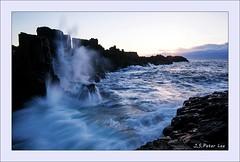 Hitting (Jong Soo(Peter) Lee) Tags: seascape sydney wave australia nsw southcoast bombo sydneyseascape