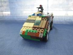 Armadillo APC Front (.Tyler H) Tags: gun tank lego military cargo camo vehicle soldiers guns apc armadillo turret macine medavac