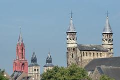 Church Towers (Matt H. Imaging) Tags: church architecture maastricht minolta sony beercan slt a55 sonyalpha minolta70210f4 minoltaaf70210mmf4 slta55v ©matthimaging