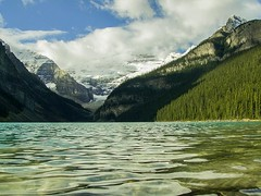 Lake Louise, Banff National Park - Alberta, Canada (jkuphotos) Tags: mountain canada mountains glacier alberta banff lakelouise banffnationalpark glaciallake