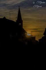 PIACENZA - il tramonto, visto da casa mia... (M&M78) Tags: shadow silhouette duomo piacenza cattedrale cathedralombra