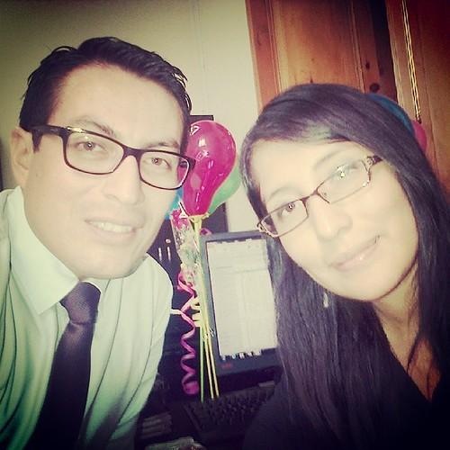 Cumpleaños, de una buena trabajadora!!!