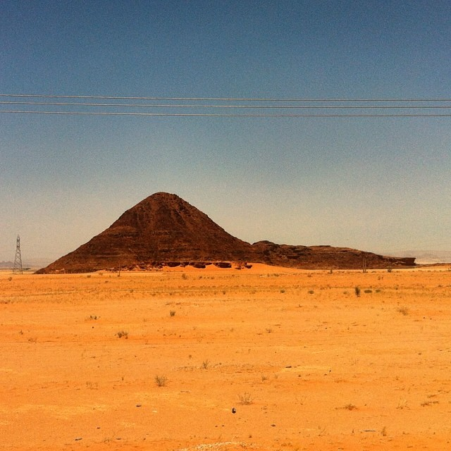 Giordania. Deserto