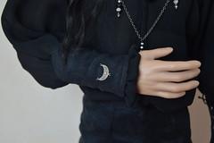 "EID man outfit - ""Moonless Night"" (Shatiel85) Tags: man outfit model doll handmade ooak eid jewelry victor bjd resin etsy custom rs ih iplehouse"