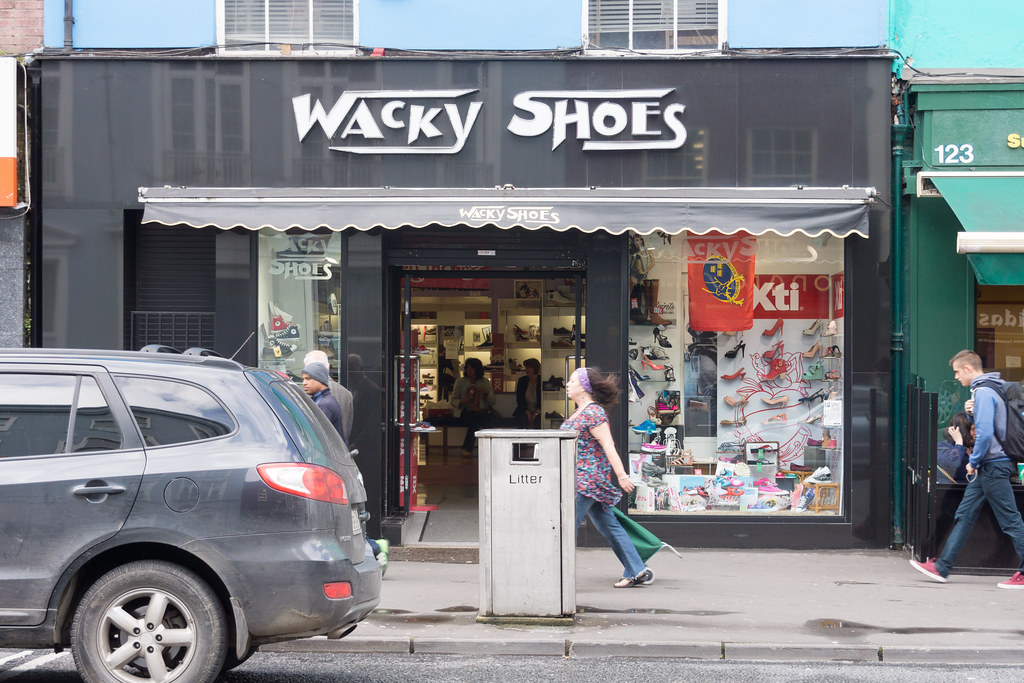 IMAGES FROM THE STREETS OF LIMERICK - WACKY SHOES
