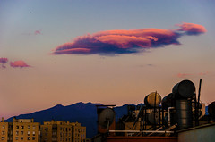 Rained the haze off (Melissa Maples) Tags: morning blue summer mountain skyline clouds turkey dawn nikon asia balcony trkiye antalya nikkor vr afs  18200mm  f3556g  18200mmf3556g d5100