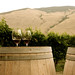 ET2Media Photo of wine glasses and barrel in Orofino Vineyard