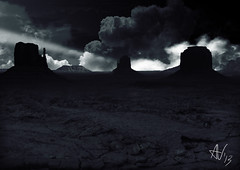 GODSLAYER - Inphalla Clouds (Vitali Andrea) Tags: painting wonders matte meraviglie godslayer calydorn