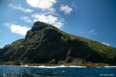 Rounding North Head - Lord Howe Island Circumnavigation (Black Diamond Images) Tags: mountains island boat paradise australia cliffs nsw boattrip northhead circumnavigation lordhoweisland worldheritagearea thelastparadise circleislandboattour