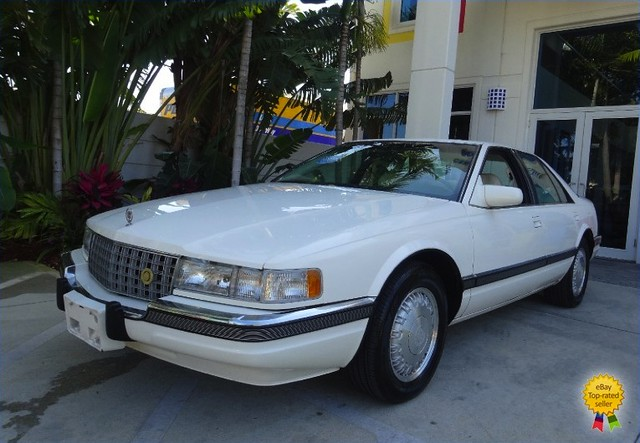 blue white leather exterior seville cadillac 1993 49