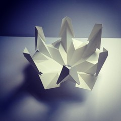 Shade module #1 -single sheet cut n fold development... #paper #popup #popuplab #popupology #kirigami #kiriorigami #kineticpaper #fold #flatpack #foldesign #flatpacklampshade #elodberegszaszi #origami #origamic #origamicarchitecture (elod beregszaszi) Tags: sculpture art geometric matrix architecture paper paperart square 3d origami gallery cut geometry space exhibition kinetic squareformat kirigami spatial folded fold kiri popup proportion crease papercut volume ratio paperwork oa optic papermodel foldable ori papersculpture origamic origamicarchitecture collapsible spacedrawing paperfold elod iphoneography papermatrix elodole popupology beregszaszi kiriorigami flatfoldable elodberegszaszi instagramapp xproii uploaded:by=instagram foldablearhitecture structurekinetic papercubed foldesign