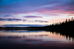 canada skies (Kacey_Oesterreich) Tags: pink blue trees sunset sky lake canada black reflection love water beautiful rock fog night forest island boat dock pretty eagle photos awesome scenic right calm adventure stump they bomb because treees sculputre murica beautfiufl