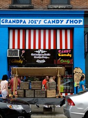 Grandpa Joe's (e r j k . a m e r j k a) Tags: street pittsburgh candy pennsylvania name first grandpa storefront stripdistrict allegheny joee basis erjkprunczyk
