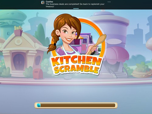 Kitchen Scramble Loading: screenshots, UI