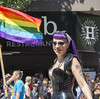 "Vancouver Pride Parade 2014 - 0179 (gherringer) Tags: summer music canada vancouver fun happy bc pride parade colourful vanpride ""west end"""