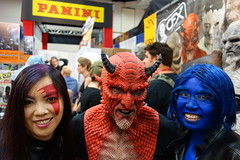 SDCC 2014 D2 - 034 (Cutterin) Tags: san comic cosplay diego xmen devil beast marvel con 2014 psylocke crimsondawn cutterin sdcc2014 sandiegocomiccon2014