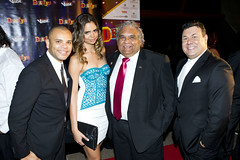 Deadly awards 2011 Luke Carroll, Samantha Harris, Tom Calma