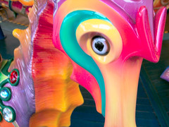 Carousel (vickilw) Tags: california seahorse carousel disney week2 letterc macromonday 7daysofshooting