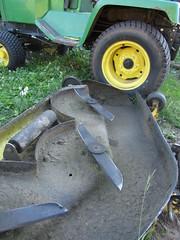 huh gardentractor johndeere332 movingdeck