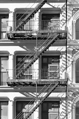 New York (Gusulabu) Tags: nyc travel blackandwhite newyork black building architecture stairs arquitectura escalera fachada nuevayork 24105 24105l 5dmarkii