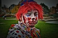 Clowning Around (Rafael Chacon Photography) Tags: scary clown streetphotography rafael zombies clowns scaryclown chacon zombe rafaelchacon