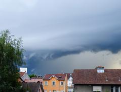 Arcus cloud (ComputerHotline) Tags: sky cloud france weather clouds ciel nuage nuages franchecomt fra belfort mto mtorologie
