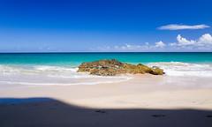 Summer Sand (lunkerbuster808) Tags: ocean summer green beach island hawaii pacific hiking northshore kauai ricoh napali hanalei hanakapiai grd kalaluatrail